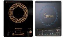 So sánh bếp điện từ Kangaroo KG412i và bếp điện từ Midea MI-SV19DE