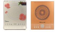 So sánh bếp điện từ Midea MI-SV21DW và bếp điện từ Kangaroo KG362I