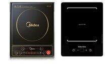So sánh bếp điện từ Midea MI-SV19EH và bếp từ Electrolux ETD28K