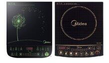 So sánh bếp điện từ Midea MI-SV21DU và bếp điện từ Midea MI-SV21DR