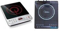 So sánh bếp điện từ Philips HD4917 và bếp điện từ Midea MI-T2113DB