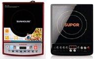 So sánh bếp điện từ Sunhouse SHD6180 và bếp điện từ Supor SDHS31
