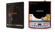 So sánh bếp điện từ Supor SDHJ07VN và bếp điện từ Sunhouse SHD6180