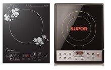 So sánh bếp điện từ Supor SDHS09VN và bếp điện từ Midea MISV21DM