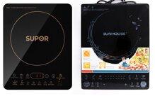 So sánh bếp điện từ Supor SDHS41VN và bếp điện từ Sunhouse SHD6861