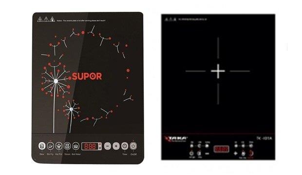 So sánh bếp điện từ Taka TK-I01A và bếp điện từ Supor SDHJ07VN