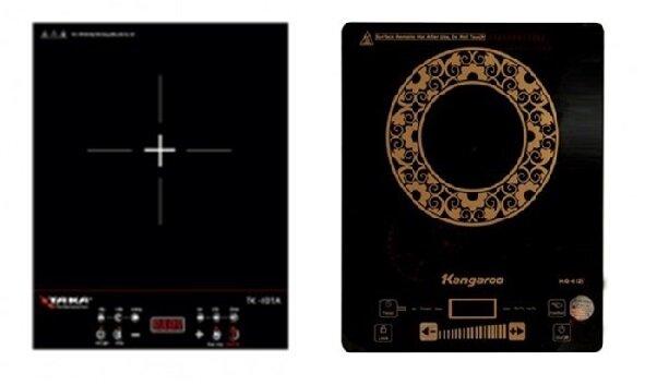 So sánh bếp điện từ Taka TK-I01A và bếp điện từ Kangaroo KG412i