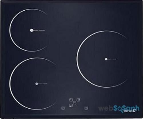 So sánh bếp từ 3 vùng nấu Cata IB 633 X và Cata I 603FTCI