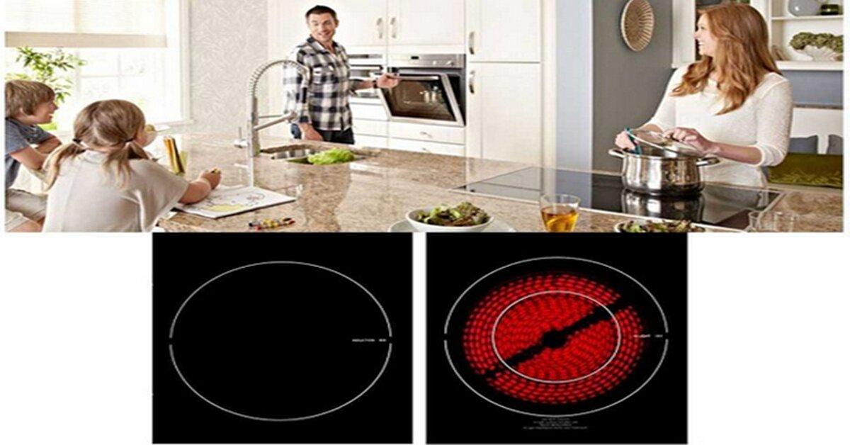 So sánh bếp từ và bếp điện từ – Nên chọn loại nào ?