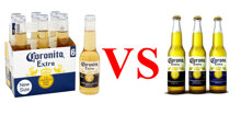 So sánh bia Corona và Coronita : Nên mua bia nhập khẩu nào thì NGON – BỔ – RẺ