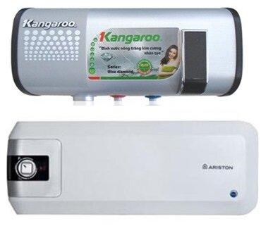 So sánh bình nóng lạnh Ariston S20HFE và bình nóng lạnh Kangaroo KG65