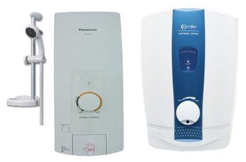 So sánh bình nóng lạnh Centon Generation WH8338E và bình nóng lạnh Panasonic DH-3HS2VH