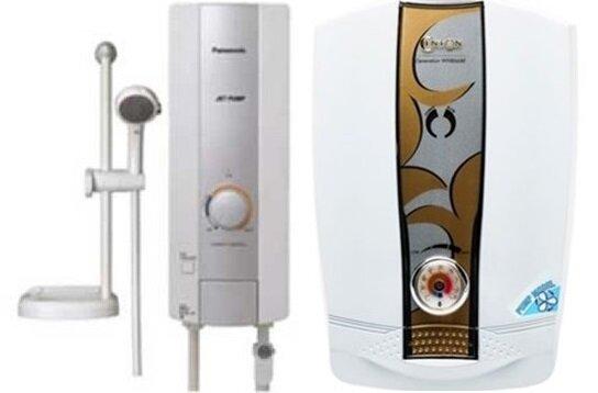 So sánh bình nóng lạnh Centon Generation WH8668EP và bình nóng lạnh Panasonic DH-3HP1W