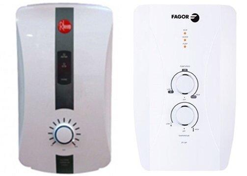So sánh bình nóng lạnh Fagor 2FI-45P và bình nóng lạnh Rheem RH388EP
