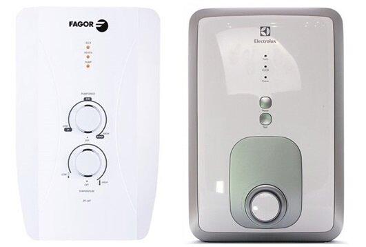 So sánh bình nóng lạnh Fagor 2FI-45P và bình nóng lạnh Electrolux EWE451BXDW