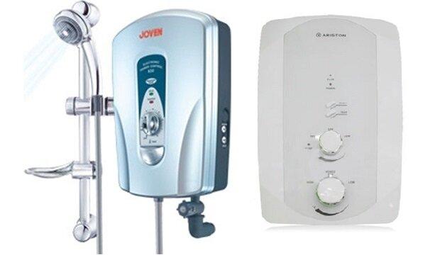 So sánh bình nóng lạnh Joven 830i và bình tắm nóng lạnh Ariston F2-3522EP