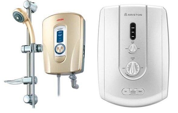So sánh bình nóng lạnh Joven 930i và bình tắm nóng lạnh Ariston BME6022E