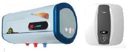 So sánh bình nóng lạnh Picenza N30ED và bình nóng lạnh Midea D15-25VA1