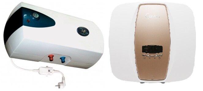 So sánh bình nóng lạnh Picenza S40E và bình nóng lạnh tiếp Midea D1525EVA