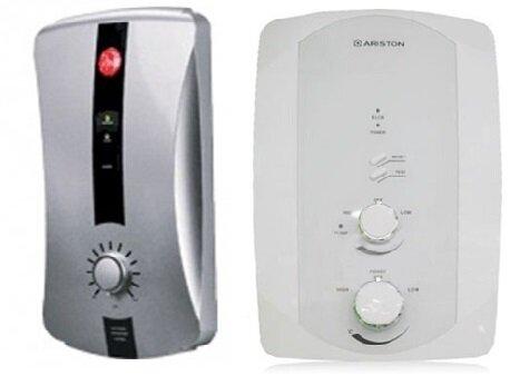 So sánh bình nóng lạnh Rheem RH388EP và bình nóng lạnh Ariston F2-3522E