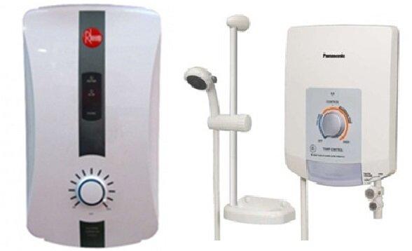 So sánh bình nóng lạnh Rheem RH388EP và bình nóng lạnh Panasonic DH-3EP3W