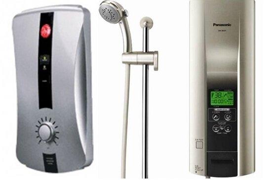 So sánh bình nóng lạnh Rheem RH388EP và bình nóng lạnh Panasonic DH6KD1VN