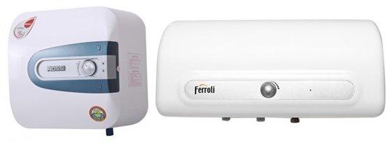 So sánh bình nóng lạnh Rossi R20HQ và bình nóng lạnh Ferroli QQSI20
