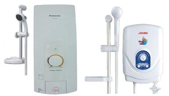 So sánh bình nóng lạnh Panasonic DH-3HS2VH và bình nóng lạnh Joven EC602