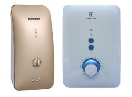 So sánh bình nóng lạnh Kangaroo KG-235 và bình nóng lạnh Electrolux EWE451AXSW