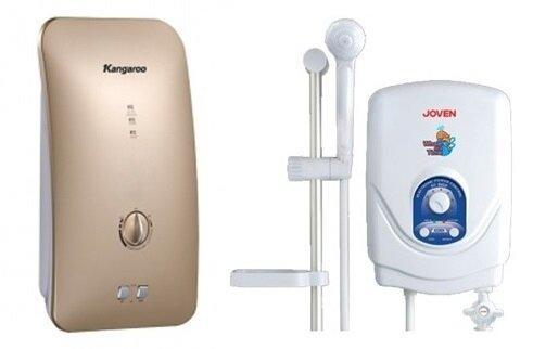 So sánh bình nóng lạnh Kangaroo KG-235 và bình nóng lạnh Joven EC602