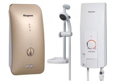 So sánh bình nóng lạnh Kangaroo KG-235 và bình nóng lạnh Panasonic DH4HS1W
