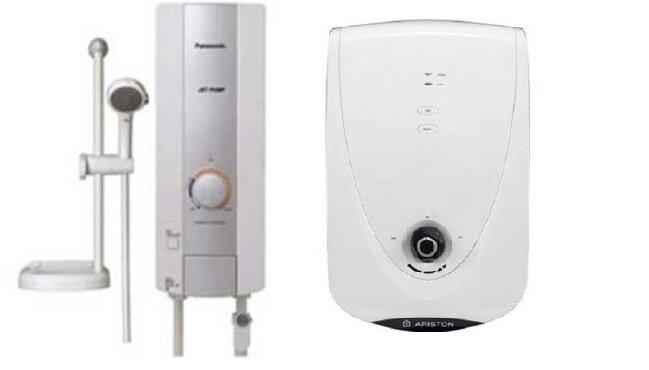 So sánh bình nóng lạnh Panasonic DH-3HP1W và bình nóng lạnh Ariston IM4522EW