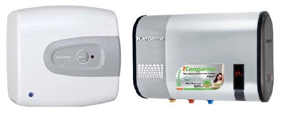 So sánh bình tắm nóng lạnh Ariston TiPro và bình tắm nóng lạnh Kangaroo KG60