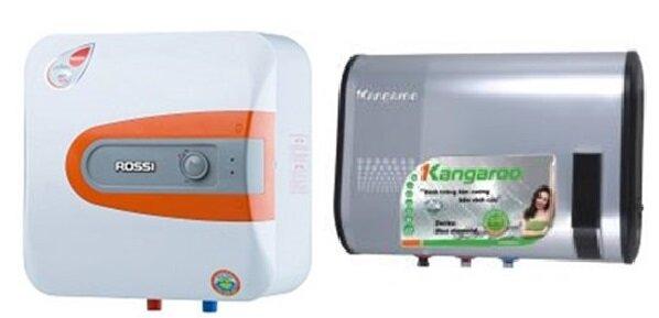 So sánh bình tắm nóng lạnh Rossi R30-HQ và bình nóng lạnh Kangaroo KG64