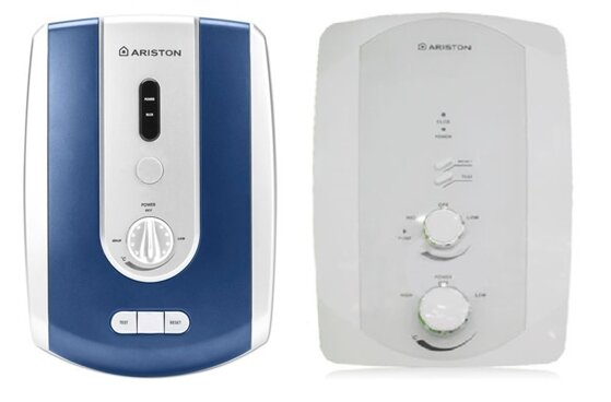 So sánh bình tắm nóng lạnh Ariston Bello-4522E và bình nóng lạnh Ariston F2-3522EP