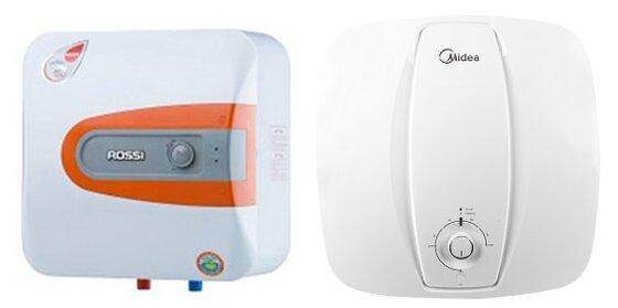 So sánh bình tắm nóng lạnh Rossi R30-HQ và bình nóng lạnh Midea D30-25VA