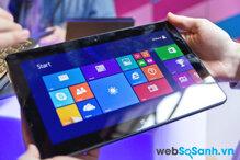 So sánh bộ đôi máy tính bảng Dell Venue 11 Pro và Asus Vivo Tab Smart