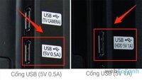 So sánh các loại cổng USB trên tivi