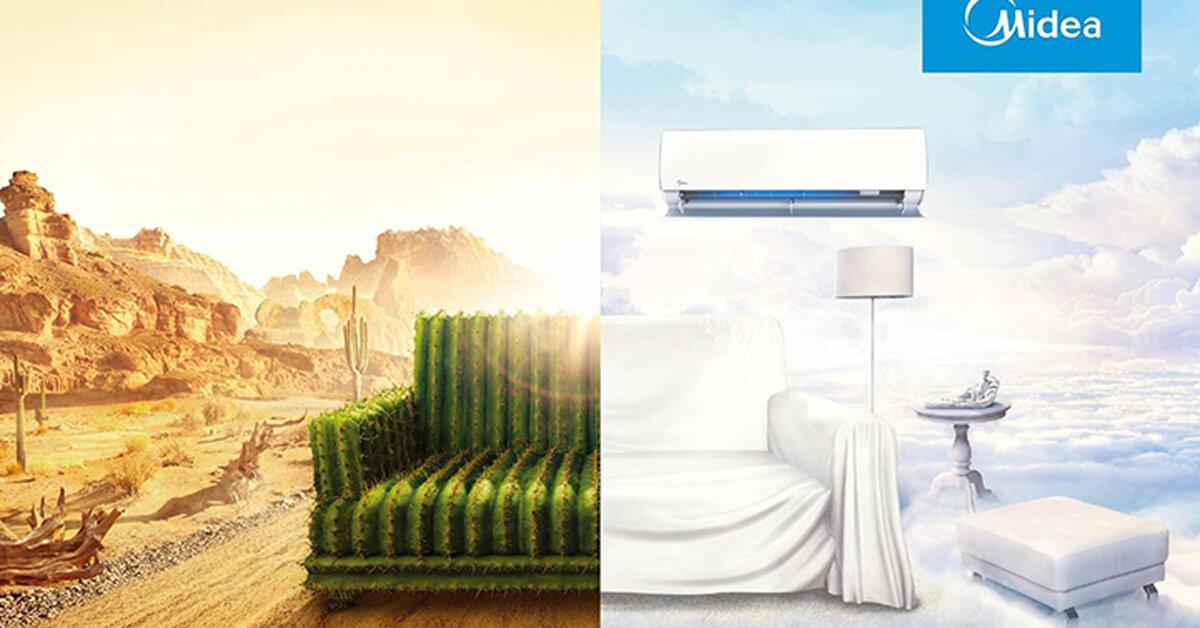 So sánh các loại điều hòa Midea : Mua loại nào ít tốn điện ?