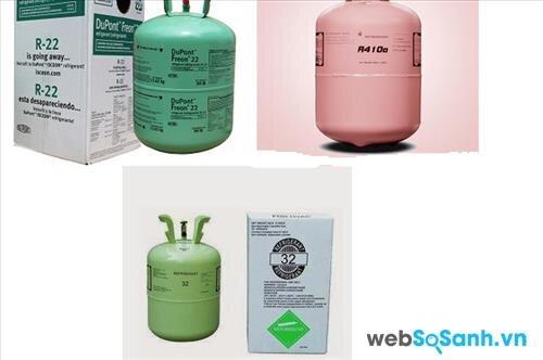 So sánh các loại khí gas sử dụng trong điều hòa hiện nay
