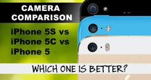 So sánh camera phía sau của IPhone 5S, IPhone 5C và IPhone 5 (phần 1)