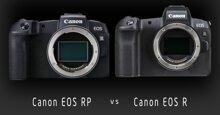 So sánh Canon EOS R và Canon EOS RP: Nên mua chiếc nào?