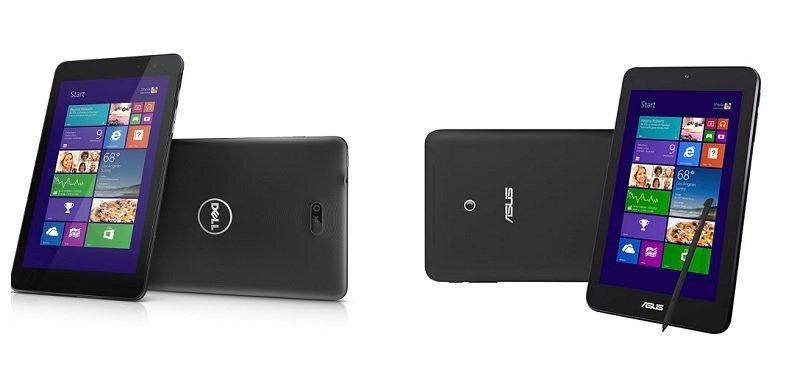 So sánh cấu hình: Asus VivoTab Note 8 vs Dell Venue 8 Pro