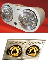 So sánh Đèn sưởi DuraQua DBA1C và đèn sưởi Saiko BH-550H