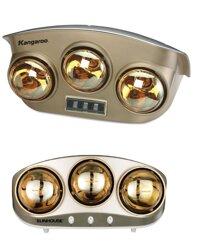 So sánh đèn sưởi Kangaroo KG251 và đèn sưởi Sunhouse SHD3803