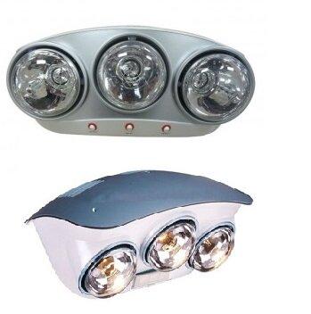 So sánh đèn sưởi nhà tắm Braun BU03G và đèn sưởi hồng ngoại Hans H3B110