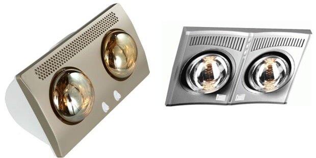 So sánh đèn sưởi nhà tắm Comet CM8537 và đèn sưởi nhà tắm Hans H2B