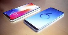 So sánh điểm khác biệt giữa Samsung Galaxy S9  và iPhone X