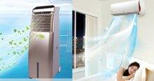 So sánh điện năng tiêu thụ của điều hòa và quạt điều hòa