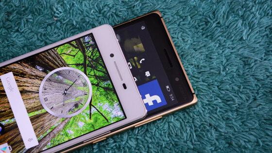 So sánh điện thoại Alcatel Flash 2 và Nokia Lumia 830